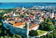 Tallin / Tallin, capital de Estonia, una de las ciudades más bellas del Baltico.