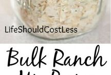 Condiments & Seasonings / Make your very own / by Heather Hazen