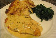 Herbed Chicken with Dijon Mustard Sauce Recipe