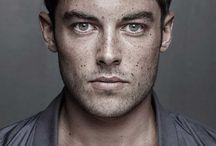 freckles face man & boy