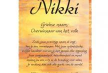 Mijn naam is Nikki