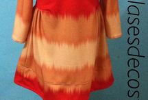 Ropa de niña / Faldas y vestidos para niña  realizadas por las alumnas en clasesdecostura.com