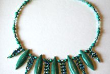 Necklaces Amy Johnson Designs / Bead Weaving Necklaces