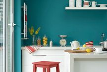 Bright Paint Colours / Be brave and use some bright coloured paint in your home.  Then get in touch with PaintJoy and your room will be decorated within 72 hours - https://paintjoy.co.uk/