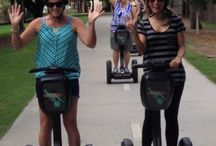 Things to do in Brisbane / Travel by segway to breathtaking sites and attraction in Brisbane. Looking at what to do in Brisbane try a Kangaroo Segway Tour.