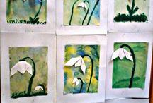výtvarka jaro