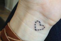 Tatuagens fofinhas