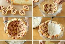 Charlotte cake roll
