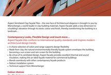 Clay Facades for Buildings...