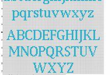 alphabet cross stitch pattern