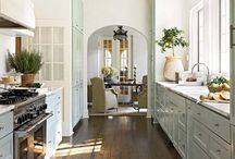 Kitchens / Inspiration for the heart of my home.