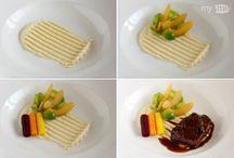 Présentation sur assiette