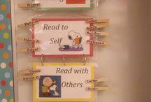 Peanuts Themed Classroom