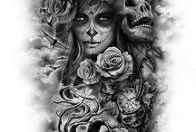 sugar skull!!!