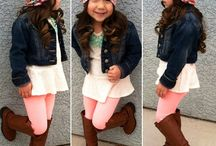 Kids fashion / by Shanda Beitz