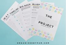 organizing printables / printables to organize your home