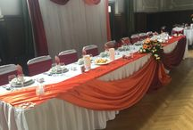 Narancs Esküvői Dekoráció