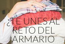Reto Armario Bonito / 30 minutos durante 7 días para darle la vuelta a tu armario. ¡Unete en www.andreaamoretti.com! / by Andrea Amoretti