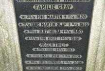 Gravstøtter med historie / Ser etter uvanlige navn og googler for å se om de har satt spor i historien