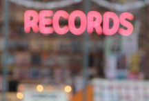 FMP proposal mood board 3 / Branding- record store