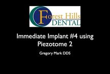 Tooth #4 Immediate Dental Implant placement using Piezotome 2