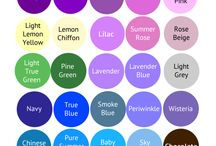 colors pallette & style definition
