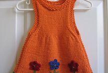 vestidos de tricô♥