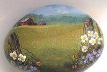 Dipinti stile country