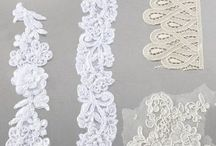 How to make lace moulds