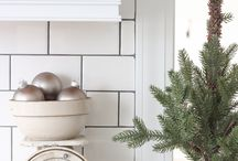 DECOR | winter / Home and garden decor and decoration, styling, seasonal elements for winter