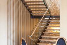 "Лестница ""Габриэль"" / #stairs#staircase#interior#design#architecture#klub#glass#steel#stainless#metal#wood#art# interiordesign#лестница#интерьер#архитектура#стекло#нержавеющая#сталь#"