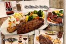 Sagebrush Specialties! / Love a good steak? We've got several mouthwatering varieties to choose from!