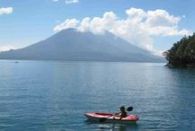 Maya Moon Lodge, Lake Atitlan, Guatemala / Fe and Chris's little oasis on Lake Atitlan