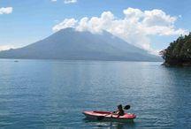 Maya Moon Lodge, Lake Atitlan, Guatemala / Fe and Chris's little oasis on Lake Atitlan