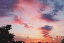 Skylight / Sunset stardust lights
