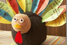 Thanksgiving / Thanksgiving crafts and recipes.