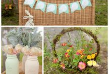 Spring Parties / Party tips and ideas for the beautiful spring season! Tea Parties, flowers and Easter!
