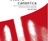Derecho. Revistas Eclesiástico / Selección de revistas de Derecho Canónico y Eclesiástico