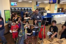 Laundry Love / The last Thursday of every month, St. David's Episcopal Church of Austin comes to SpinZone SoCo and gives us a little Laundry Love, bringing treats, quarters and soap to help our customers do their laundry!
