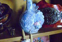 céramique  FC / tableaux émaux cloisonnés et céramique artisanales