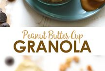 *granola is my fave* / Imagine this. Large chunks of sweet chocolatey oaty goodness or dried fruit or nuts . . . . Yup.   It's like candy for breakfast.