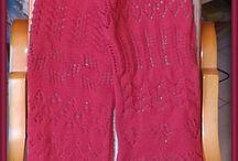 ECHARPES FOULARDS / Echarpes, foulards au tricot et crochet