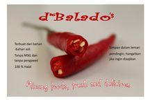 d'Balado's & Makaroni Panggang / home made food