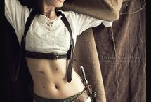 Post-Apocalyptic Steampunk Inspiration / This is an inspirational collection of photographs of what could be called a Post-Apocalyptic Steampunk.