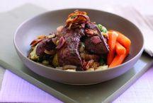Recetas con carne de cordero / Recetas cuya materia prima principal es la carne de ovino en todas sus variedades