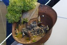 miniatur perang