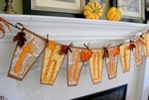 I can make these...Banners & Garlands / by Deborah Byron-Leffler