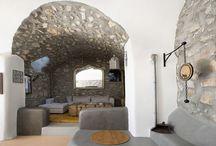 Villa Megalochori #Santorini #Greece #Island