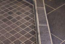 Shower curb