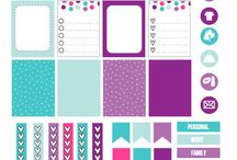 Planner - Printable Stickers